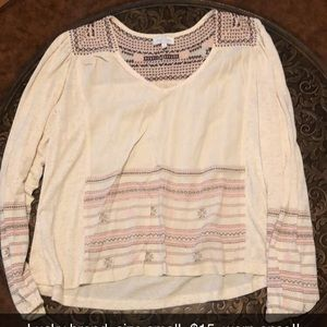 Lucky brand- size small